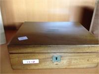 Trio of empty cigar boxes