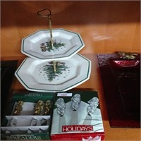 Assorted Holiday Serving ware