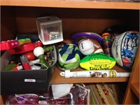 Assorted sports & games