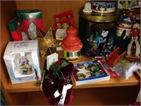 Assorted Holiday Items