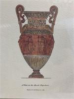 Framed Antique vases prints Wall Art