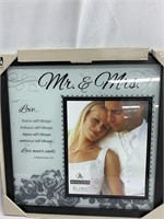 Picture Frames - Mr & Mrs + For animal