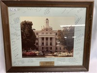 Naval Medical Command signed photo
