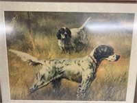 Dalmatians in an open field - Wall Art