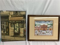Wall Art - Store Front Portraits (Shopping)