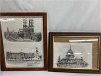 Monumental Buildings (Wall Art)