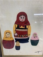 1980 Painting by Joan Bridges