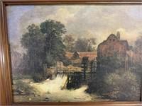 Vintage countryside & barn wall art