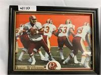 Framed Artwork (Washington Redskins, Marriage