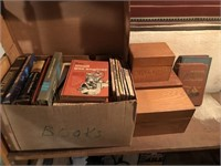 Misc. Books, Recipe Boxes