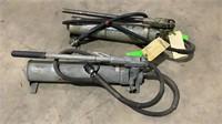 (qty - 2) Hydraulic Hand Pumps-