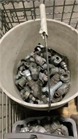 Assorted Air Hose Twist Lock Connectors and Parts-