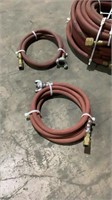 Assorted Air Hose and Quick Disconnect Air Hose-