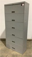 6 Drawer Lateral Filing Cabinet-