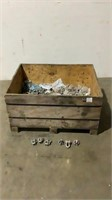 """Crate of Assorted 5/8"""" Wire Rope Clips-"""