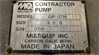 Non-Working Contractor Pump-