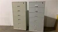 (qty - 2) 6 Drawer Lateral Filing Cabinet-