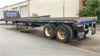 1974 Fontaine 40' Flat Bed Trailer-