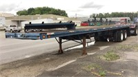 1974 Arrow Ind. 40' Flat Bed Trailer-