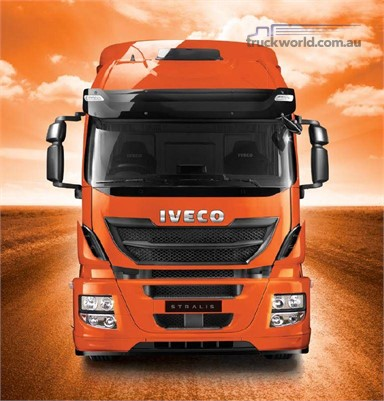 Iveco Stralis 8x4 AT