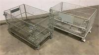 (qty - 2) Small Warehouse Baskets-