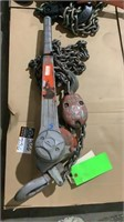 3 Ton Ratchet Chain Hoist-