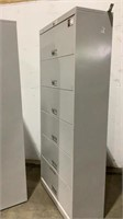 (qty - 2) 6 Drawer Lateral Filing Cabinets-