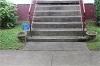 (4) Concrete Planters