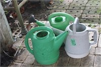 (3) Watering Cans