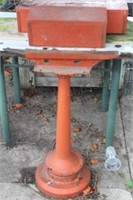 Homemade Anvil on Stand w/ Cover