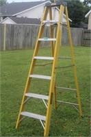 Stanley 7' Fiberglass Step Ladder