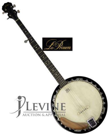 Vintage La Primera Banjo, L-110, Remo Head   HiBid Auctions