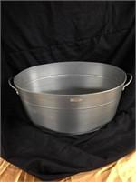 big Silver Bucket party jar