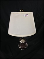 Traditional two bulb lamp modern