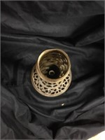 Solid Brass Candle Holder stand