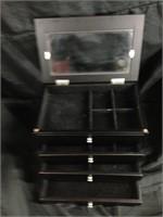 Black Modern Jewelry Box