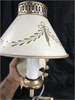 Antique lamp sconce