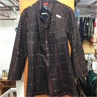 100% Silk Jacket Made In India