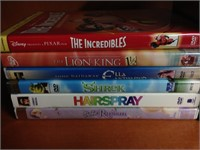 DVD's - Disney Pixar