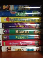 VHS Tapes - Assorted Lot