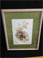 Wall Art - Pink Flowers