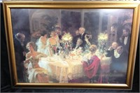 "Jules Grun Art Work - ""Dinner Party"""