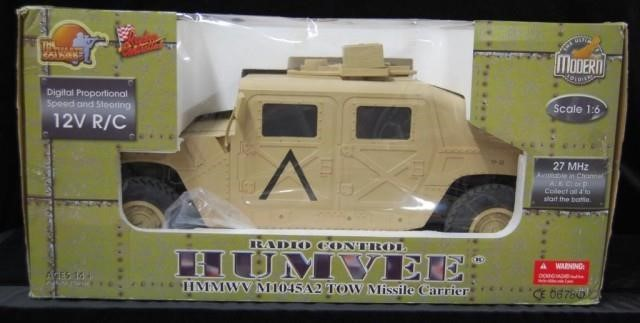 1/6 Scale Ultimate Soldier Radio Control Humvee | HiBid Auctions