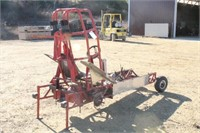 MINI ROD PULLING TRACTOR FRAME WITH 9