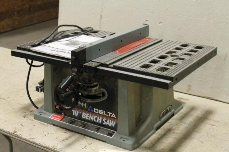 Delta 10 Motorized Bench Saw Model 36 540 Type 2 Smith Sales Llc