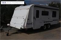 2006 Roadstar Voyager Sapphire 22ft Caravan
