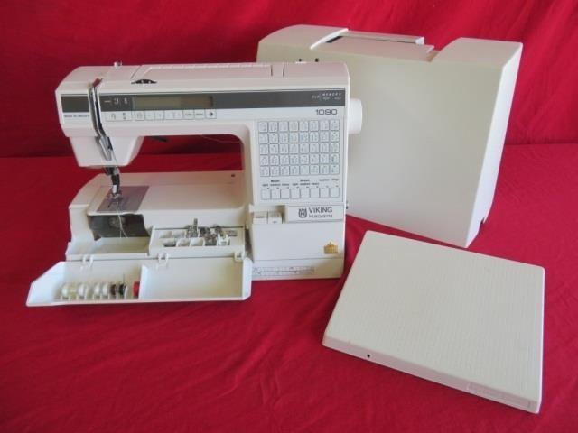 Sewing Machine Husqvarna Viking Model 1090 | Bighorn Auction Co
