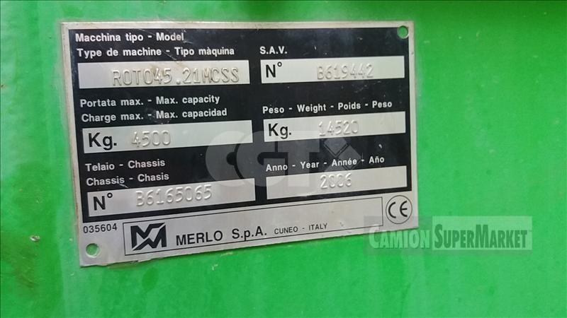 Merlo ROTO 45.21MCSS Usato 2006