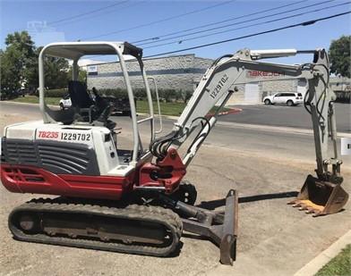 TAKEUCHI Excavators For Sale In California - 65 Listings