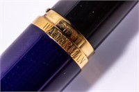 Waterman Preface 18K Nib Blue Lacquer Fountain Pen